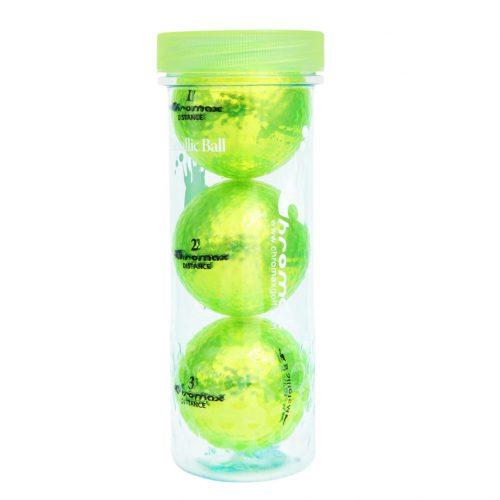 Chromax Distance 3 Ball Tube (Green)
